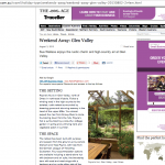 The Age Traveller Section ~ Weekend away Glen Valley 1