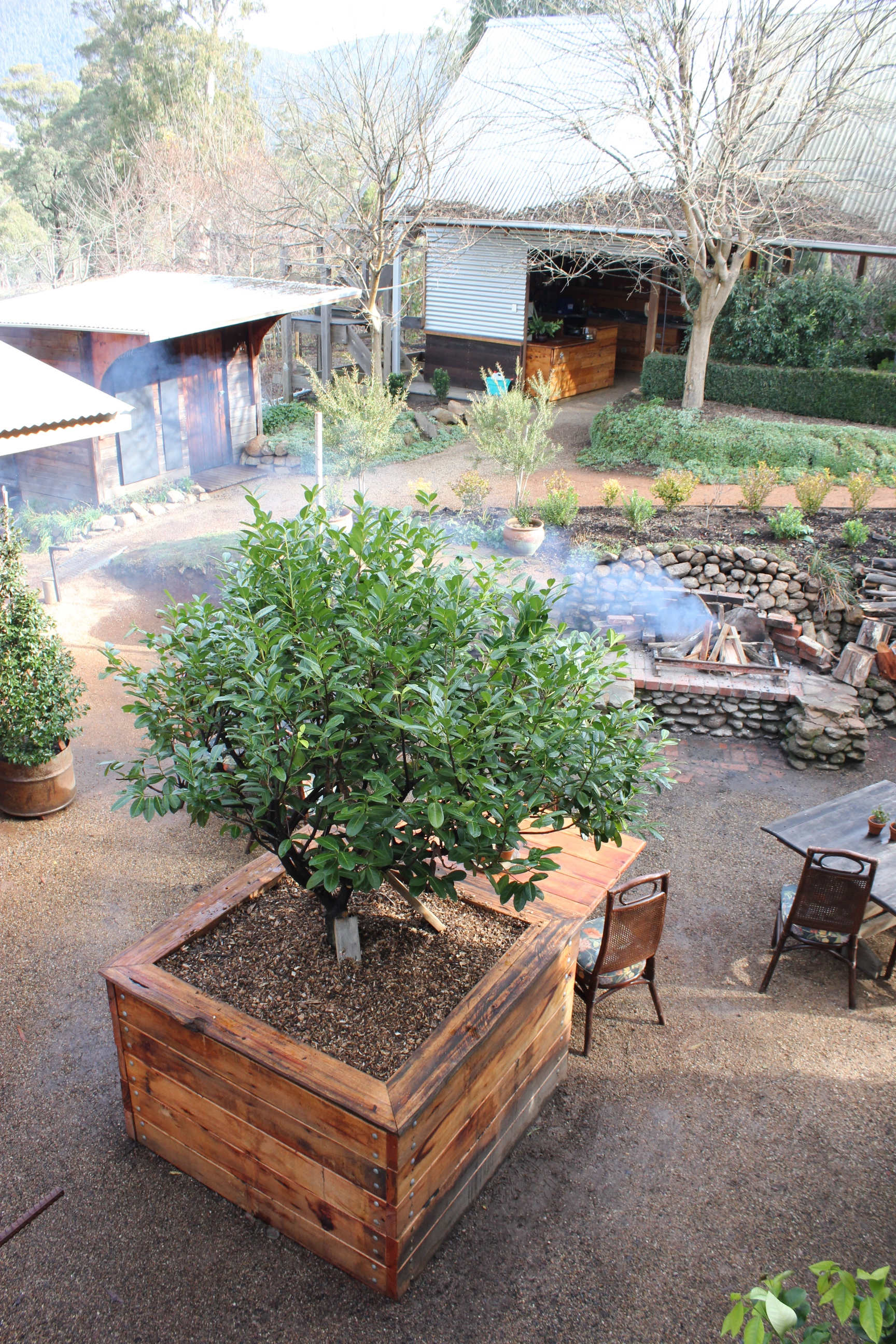 Paynes hut is remote accommodation in victoria australia for Gardening 101 australia
