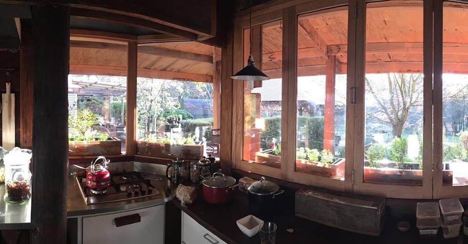 Handbuilt Remote Accommodation in Glen Valley